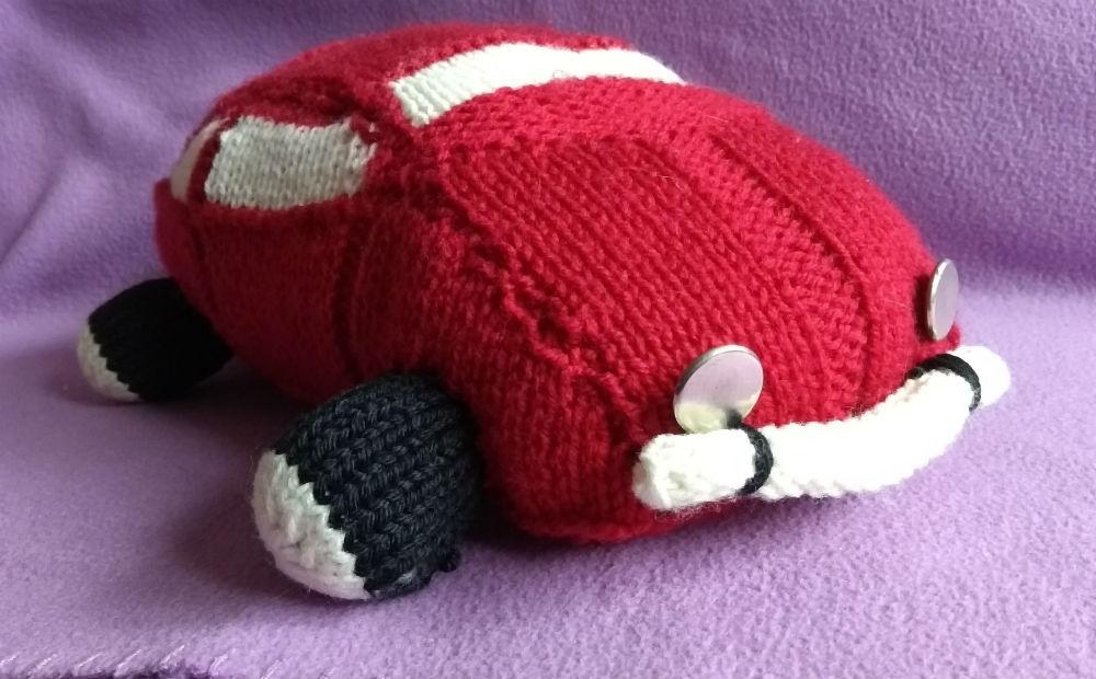 auto robione na drutach