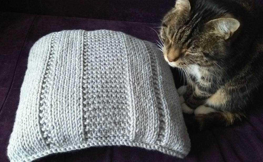 łatwa poduszka na drutach