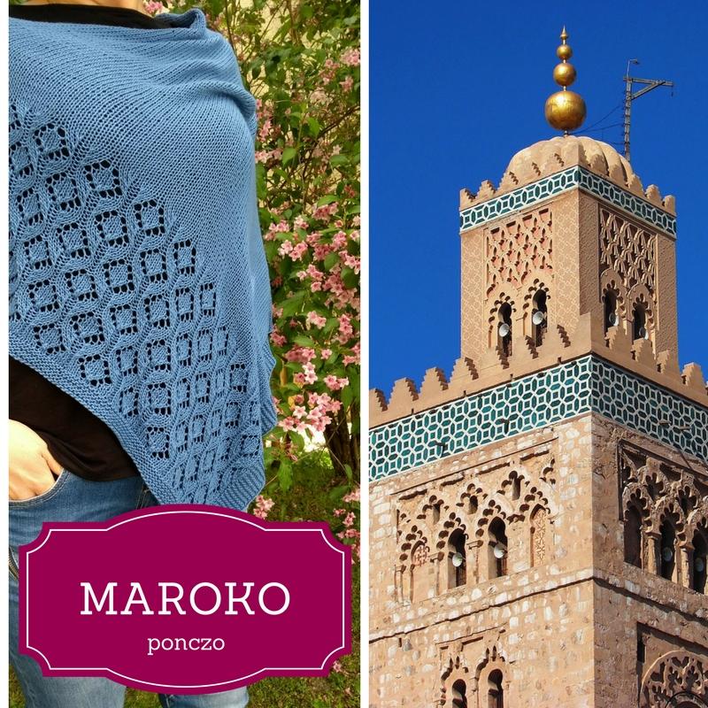 Wzór ponczo Maroko