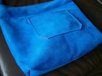 torba niebieska