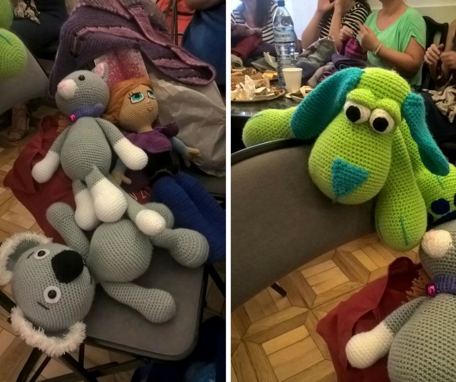 zabawki szydełkowe