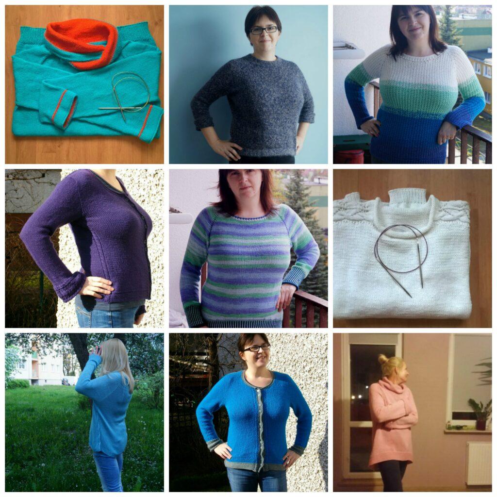 swetry otulove, sweter na drutacg