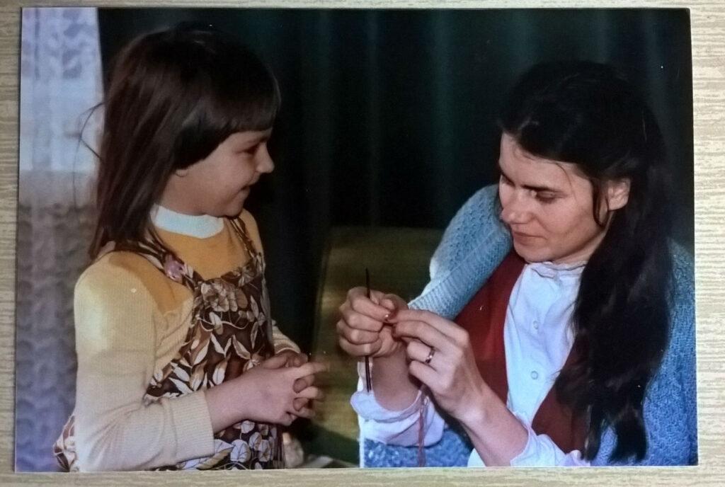 nauka robienia na drutach