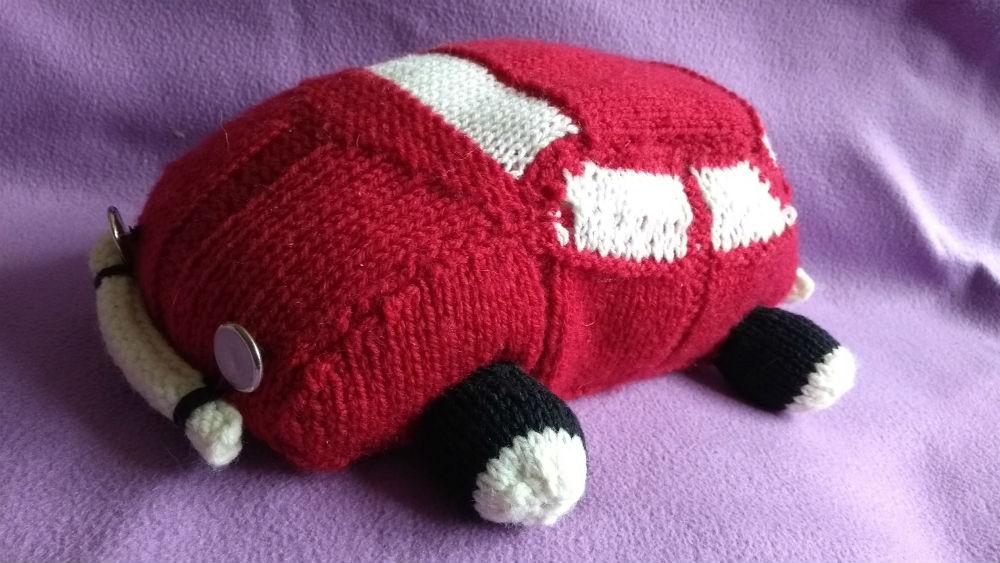 samochód na drutach