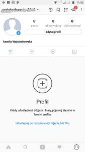 instrukcja obsługi instagrama