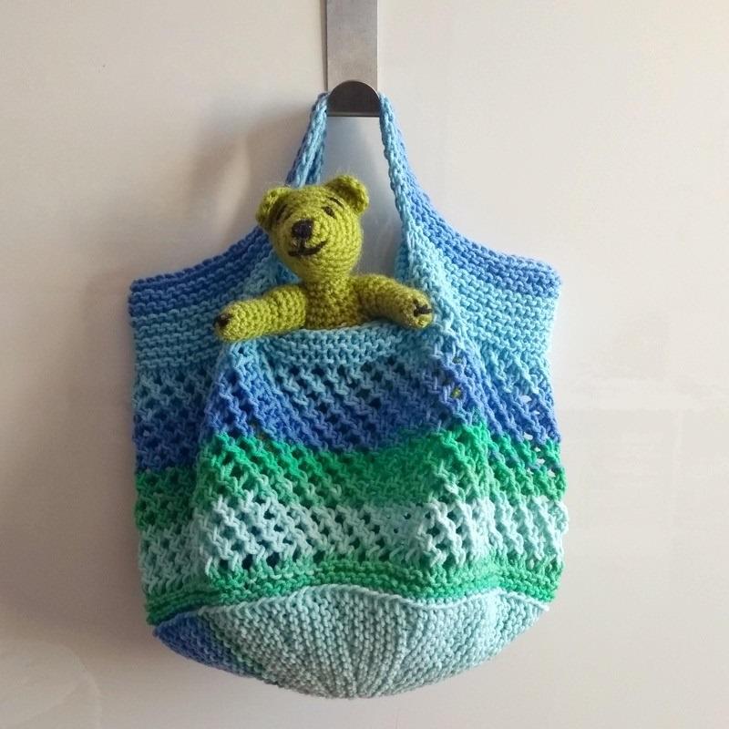 torba siatka na drutach